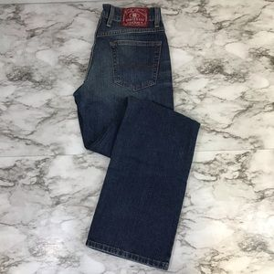 Lucky Brand Dungarees Rider Fit Relaxed Long Jeans